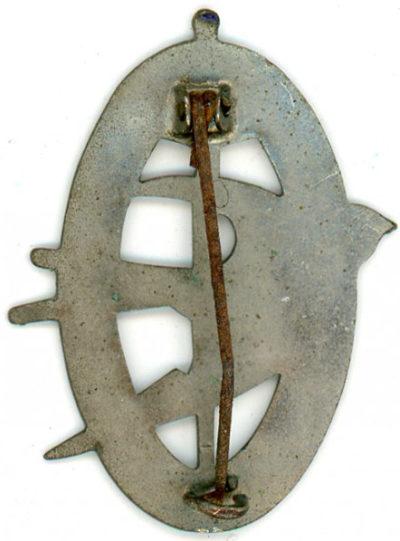 Аверс и реверс знака 170-го пехотного полка.