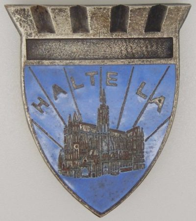 Знак 204-го пехотного полка.