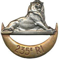Знак 235-го пехотного полка.