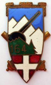 Знак 164-го артиллерийского полка.