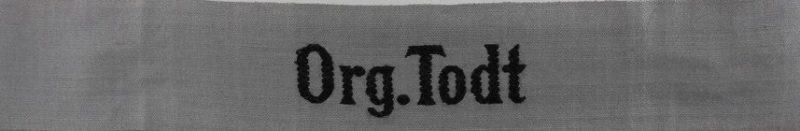 Манжетная лента организации Тодта для «Bevo-Wuppertal».