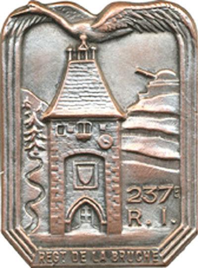 Знак 237-го пехотного полка.