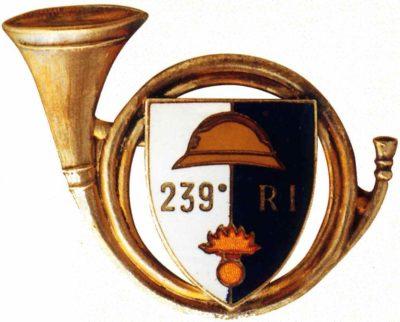 Знак 239-го пехотного полка.
