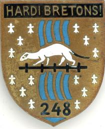 Знак 248-го пехотного полка.