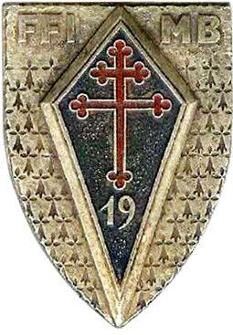 Знаки 19-й пехотной дивизии.
