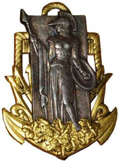 Знаки военных училищ ВМФ.