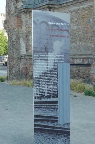 г. Берлин – Ангальтер. Мемориал на станции депортированным евреям, с которой их вывозили в концлагеря.