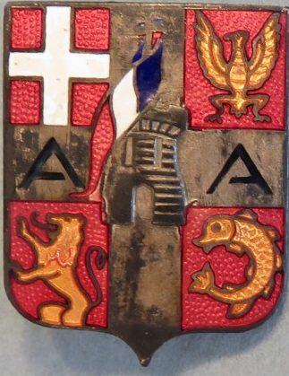 Знак Альпийской армии.