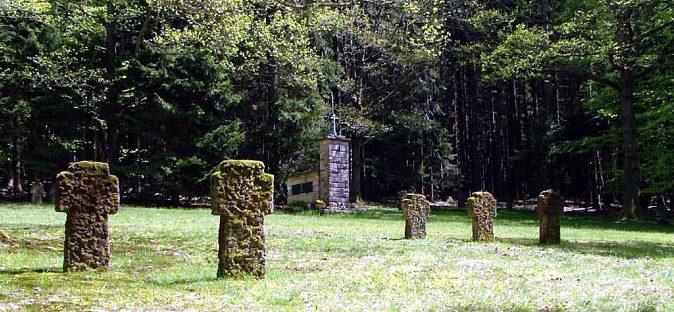 г. Бад-Орб, Майн-Кинциг район. Памятники на месте захоронения советских военнопленных.