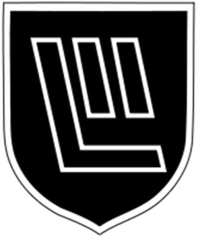 Знак 19-й дивизии СС.