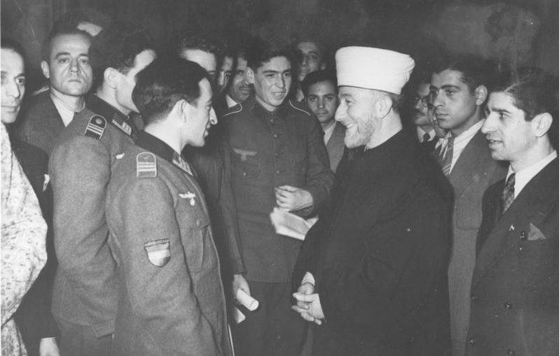 Азербайджанские легионеры и Амин аль-Хусейни. Берлин. 19 декабря 1942 г.