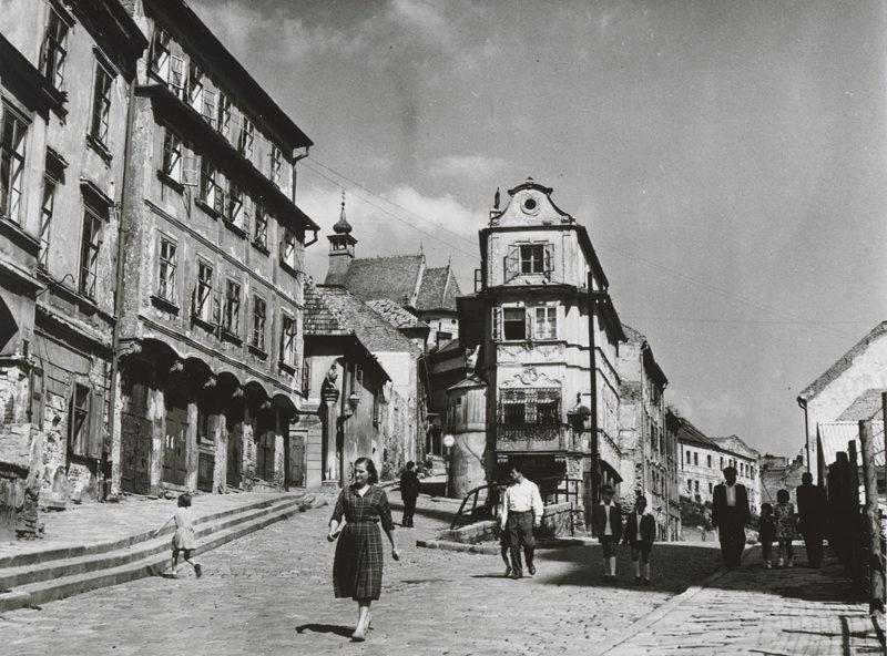 Улицы Братиславы. 1939 г.