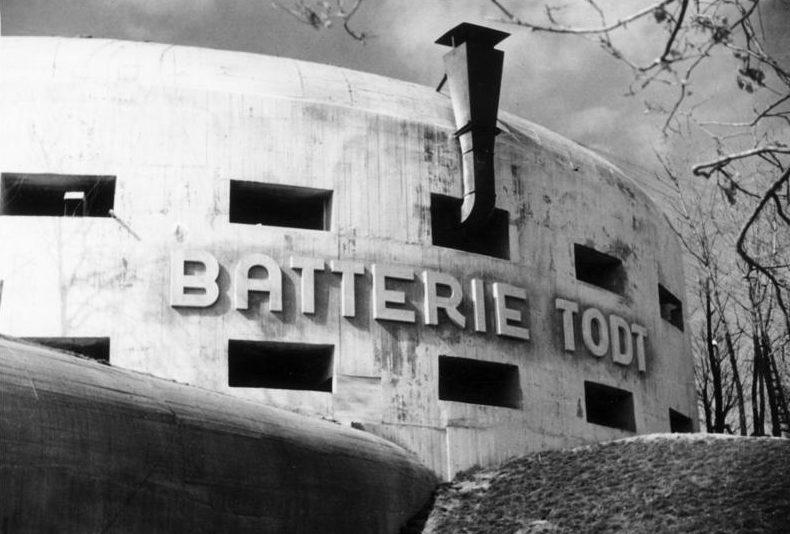 Казематы батареи Тодта.
