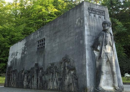 г. Дортмунд. Монумент в лесопарке Биттермарк, где погибло более 3 тысяч невольников.