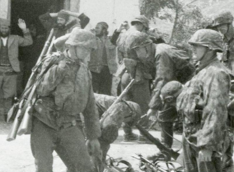 Солдаты дивизии в Югославии. 1943 г.