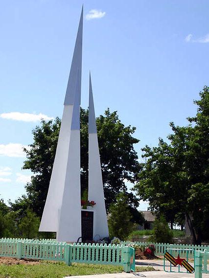 д. Кашенцы Берестовицкого р-на. Братская могила советских воинов.