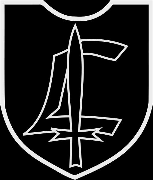 Знак дивизии «Лютцов».