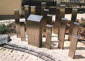 г. Висбаден. Памятник депортированным евреям.