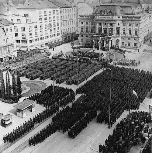 Военный парад в Братиславе. Март 1941 г.