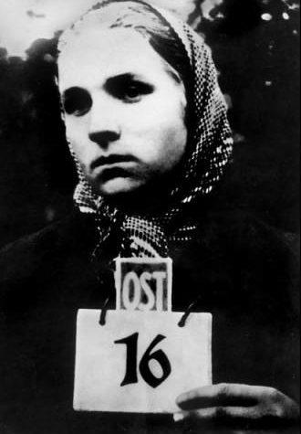 Фото на документ остарбайтера. Украина. 1942 г.