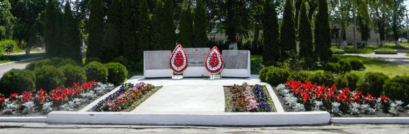Агрогородок Олекшицы Берестовицкого р-на. Памятник погибшим землякам.