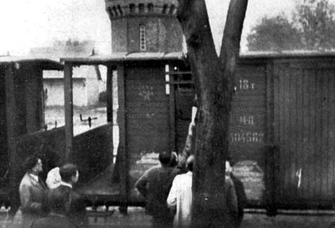 Депортация горожан в Сибирь. Август 1940 г.