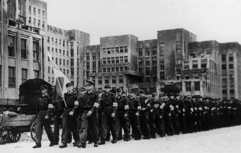 Корпус Белорусской краевой обороны в Минске.