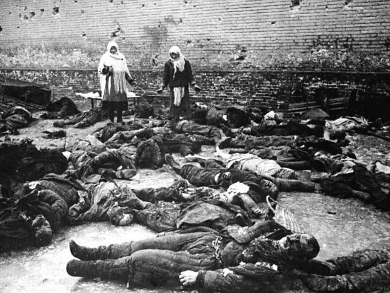 После недельной оккупации города. Ноябрь. 1941 г.