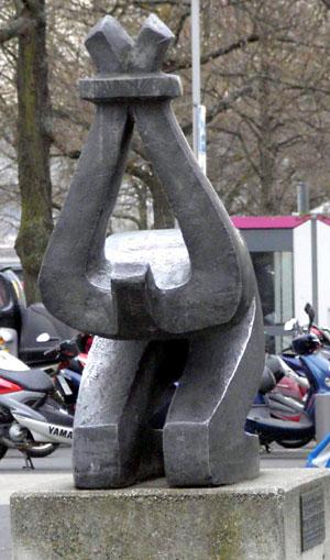 г. Кассель. Памятник жертвам насилия.
