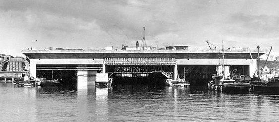Бункер Nordsee-III в рабочем режиме.