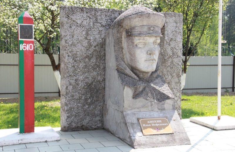 Агрогородок Пограничный Берестовицкого р-на. Памятник пограничникам.