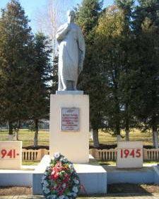д. Старый Дворец Берестовицкого р-на. Памятник землякам, погибшим в годы войны.