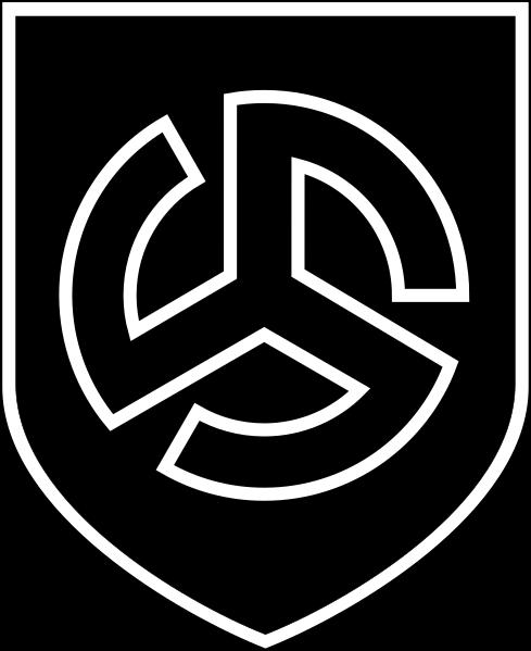 Знак дивизии «Лангемарк».