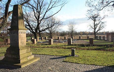 г. Грёнинген. Воинское кладбище, где захоронено 80 советских военнопленных и подневольных рабочих, погибших во время Второй мировой войны.
