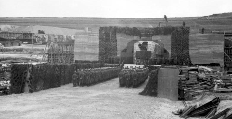 Береговая батарея «Линдерман». Январь, 1942 г.