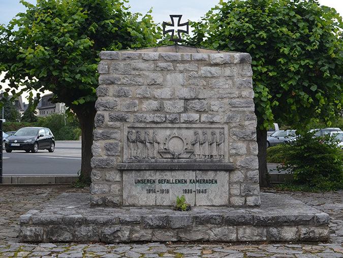 г. Лимбург. Памятник землякам, погибшим во время обеих мировых войн.