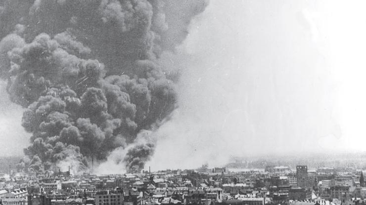 Бомбардировка союзниками Братиславы. 16 июня 1944 г.