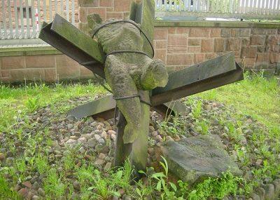 г. Марбург. Памятник дезертирам Второй мировой войны, расстрелянных нацистами.