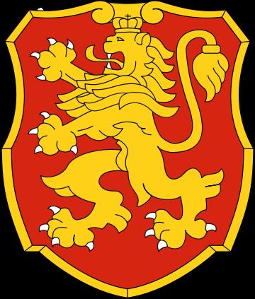 Герб Болгарии как отличительный символ бригады.