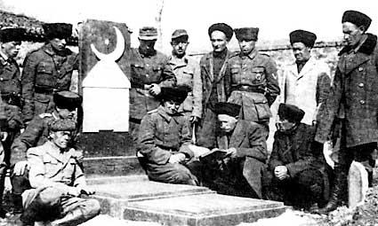 Солдаты батальона.