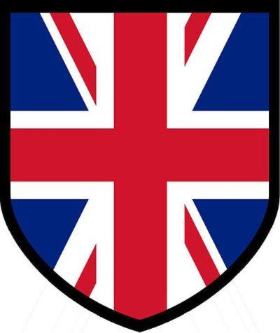 Знак британского корпуса.