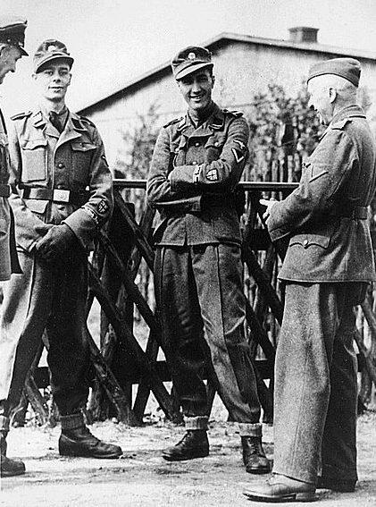 Солдаты корпуса. Апрель 1944 г.