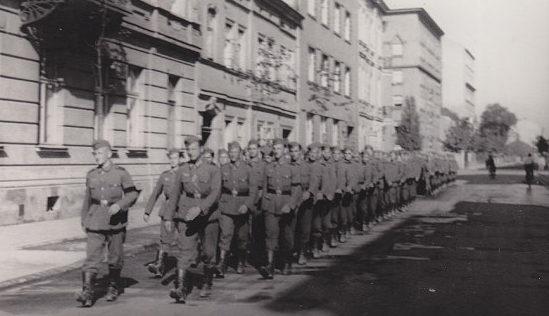 Нахтигаль во Львове. 1941 г.