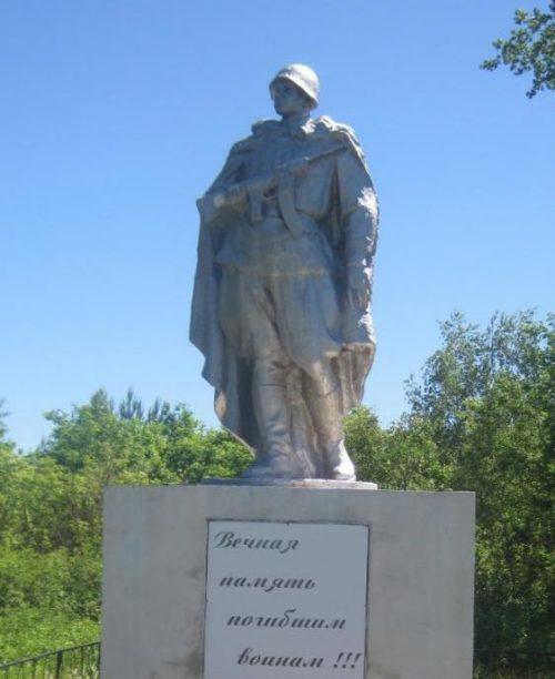 д. Беседь Ветковского р-на. Памятник советским воинам.