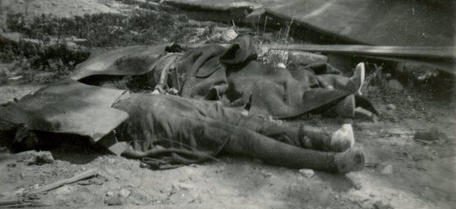 Жертвы бомбардировки союзников в Братиславе. 16 июня 1944 г.