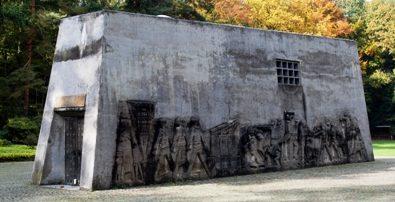 Памятник жертвам нацизма.