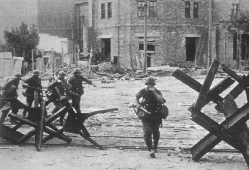 Бои за город. Июль 1942 г.