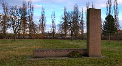 г. Дессау. Памятник жертвам бомбардировки союзников 7 марта 1945 года.