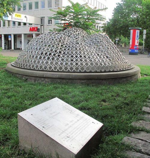г. Нюрнберг. Мемориал «Транзит» в память о подневольных работниках.