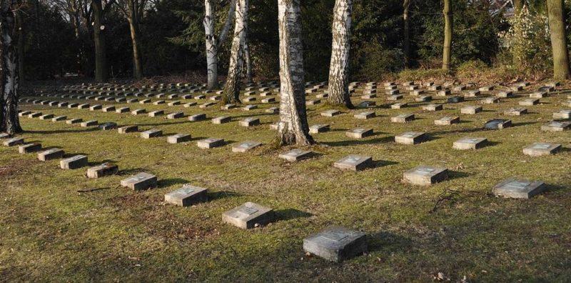 Итальянский сектор кладбища.
